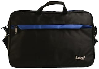 Leaf Lavender Slim Carry Case For Laptop Size 15.6 Inch (Blue)