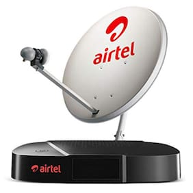 Airtel HD Set Top Box With Recording plus 1 Month Value Sports Pack