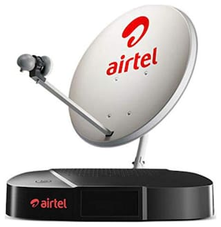 Airtel SD Set Top Box With 1 Month Regional Pack