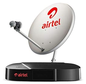 Airtel SD Set Top Box With 1 Month Mega Pack