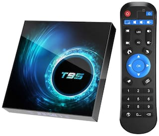 SOUDAMINI Android 10.0 TV Box, T95 4GB RAM 32 ROM Allwinner H616 Android Box with 2.4G/5G Dual WiFi 10/100M Ethernet, Support H.265/3D/6K Ultra HD/BT 5.0/HDMI 2.0 Smart TV Box