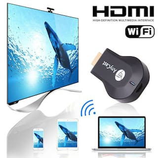 AnyCast M4 M9 Plus WiFi Display Receiver Airplay Miracast 2.4G TV DLNA 1080P