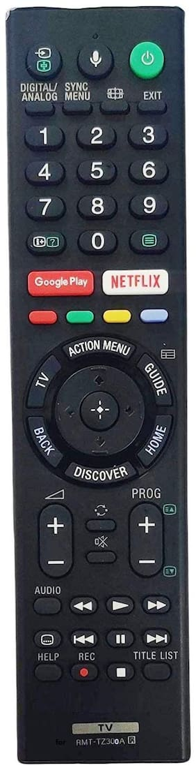 Astigo Compatible Remote for Sony Smart LED TV (Without voice assistant)