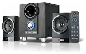 Axess Dynamic Sound 2.1 Mini Entertainment System with Bluetooth MSBT3907