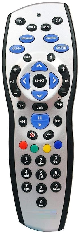 Compatible Remote Control for Tata Sky Plus HD Set Top Box with Recording by KT