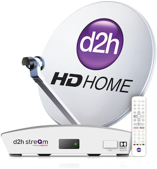 d2h Stream + Remote With 1 Month Platinum HD Kannada Combo