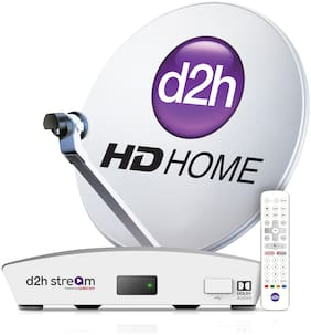 d2h Stream + Remote With 1 Month Platinum HD Gujarati Combo