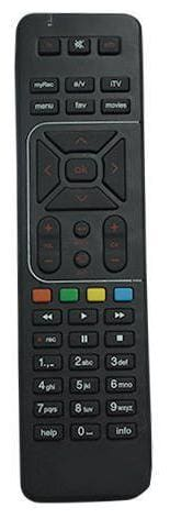 Darahs DTH Remote with Recording Feature Works for Airtel DTH Set Top Box Remote (Pairing Required to Sync TV Functions)