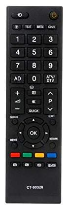 EHOP Compatible Remote Control for Toshiba TV LCD / LED TV