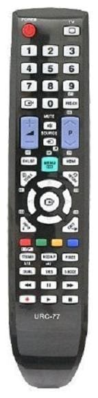 EHOP Remote Control for AA59 BN59 Series TV Remote Control for LCD LED HDTV Smart TV Models Urc-77