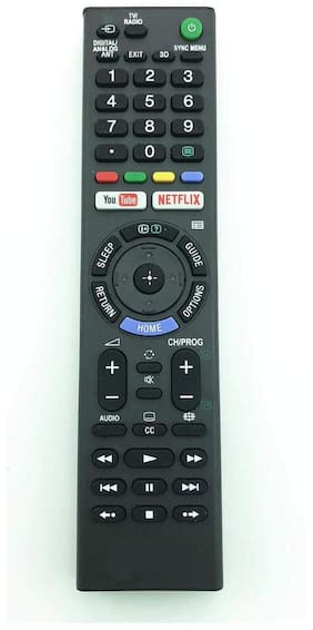 EHOP RML1370  Remote Control Compatible for Sony Bravia with Netflix and YouTube Function RMT-TX202P RMT-TX300P