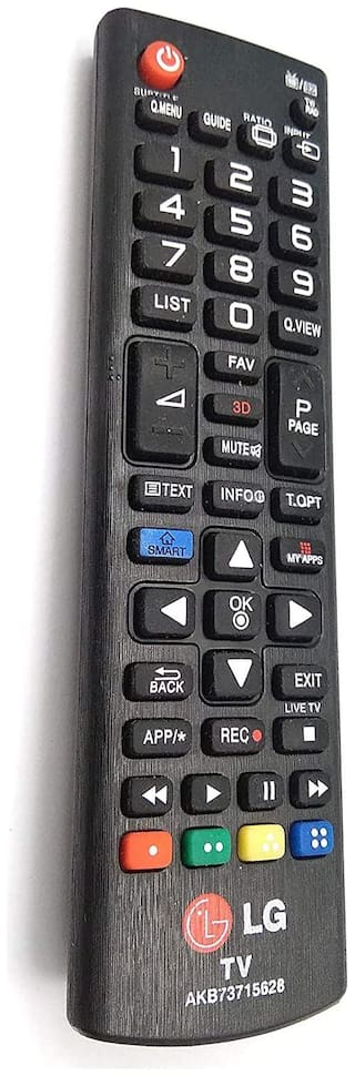 FPR LG Universal Remote Controller Compatible for LG LCD/LED/Plasma / 3D TV