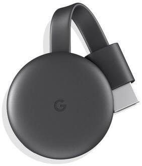 Google - Chromecast 3rd Generation Streaming Media Player - Charcoal