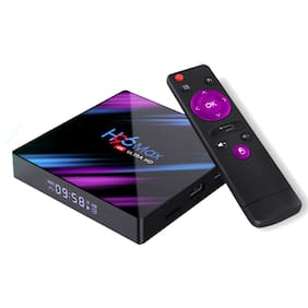 High Performance H96 Max 4K HDR 64GB Android 9.0 Dual Wifi 5G Bluetooth TV Box