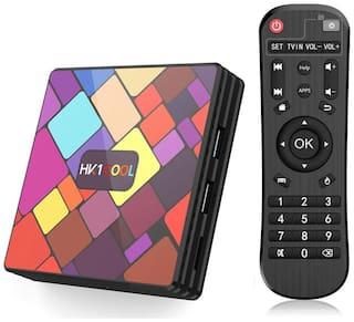 SOUDAMINI HK1 Cool Android TV Box Smart Dual WiFi RK3318 4GB RAM 64GB ROM 4K Android 9.0 TV Box