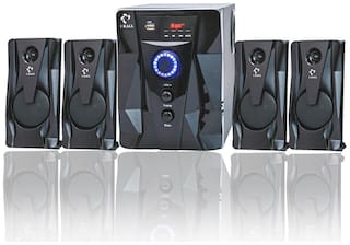 IKALL IK-411 80W Bluetooth Home Theatre System with FM/AUX/USB Support and Remote Control (4.1 Channel)