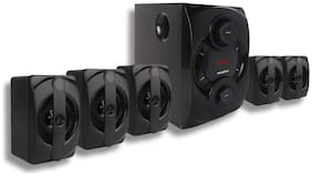 Krisons Genius-KSH 200 |App Based Smart Home Theater System 5.1| Bluetooth | AUX | FM | USB | Surround Sound Speakers