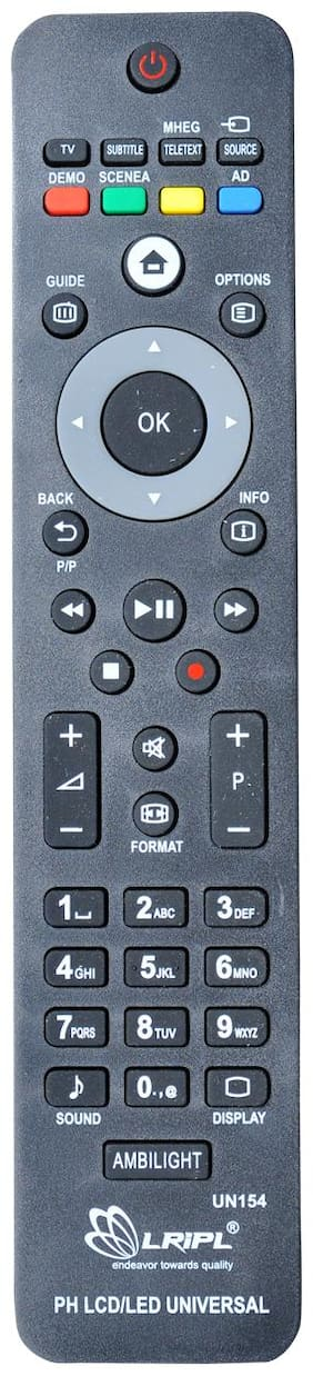 LRIPL Philips Universal Remote Compatible for Philips LCD/LED TV Remote Control