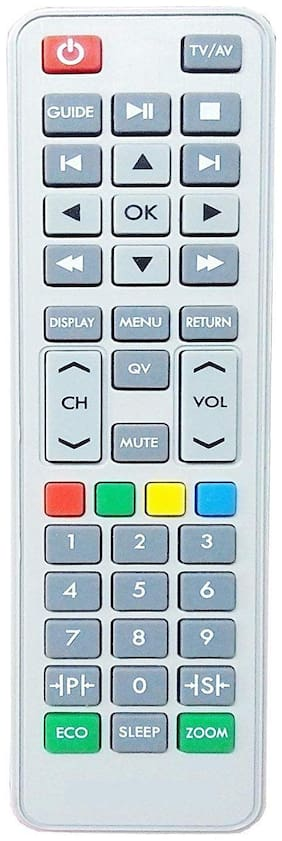 MASE Compatible Sansui LED/LCD S2GG Remote Controller  (White)
