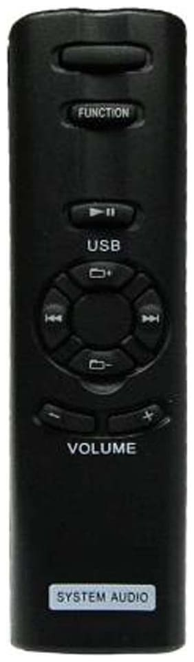 MASE Compitible Remote For Sony Home Theater RM-ANU156 Remote Controller  (Black)