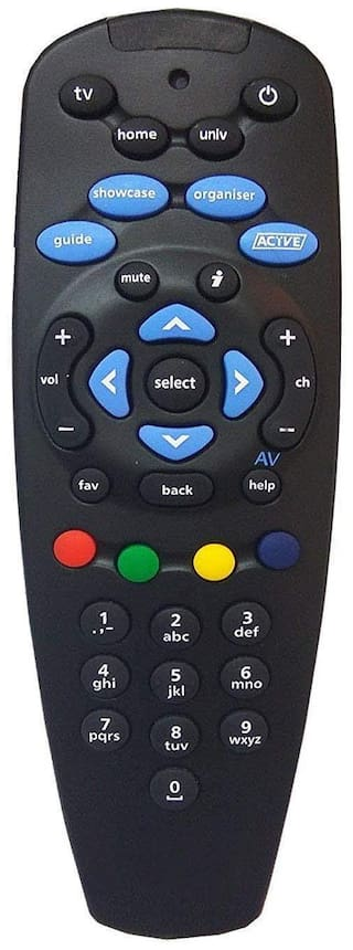 MASE TATA Sky DTH Compatible Universal Remote for SD and HD Set Top Box Remote Controller