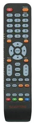 NEW Sceptre TV/DVD Combo Remote Control X325 (142021270010C)
