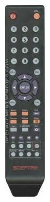 NEW Sceptre TV Remote Control 142020479999K