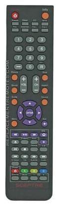 Original Sceptre Remote Control for E248BDFMQR, E325BDFMQC, E325BDFMQR