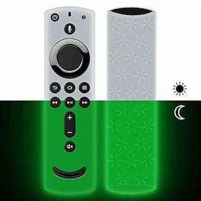 Remote Case/Cover For Fire TV Stick 4K,Protective Silicone Holder SlipShockProof