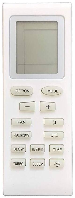 Remote for VOLTAS/Onida/GODREJ/Lloyd/VIDEOCON Air Conditioners (YB1FA YB0F YB1F2 YB1FB YB0F2 YB1FAF YB1F2F YB1F Y512V2 YB1B4 Y612C Y201M YAP0D Y202)