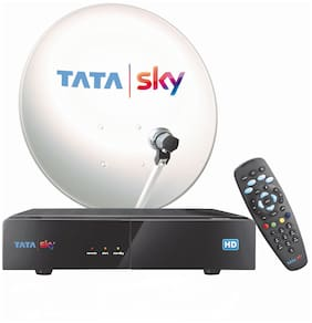 Tata Sky HD Box with One Month Tamil Malayalam Basic Pack