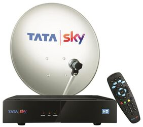 Tata Sky HD Box With 1 Month Ultra Pack