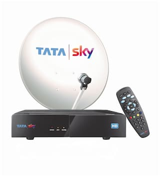 Tata Sky High Definition Set Top Connection