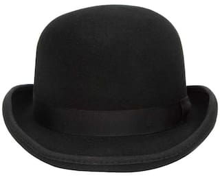 99d19028bc5 Buy Bowler Hat In Black Online at Low Prices in India - Paytmmall.com