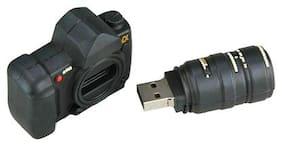 Microware Camera Shape 4 GB Pen Drive