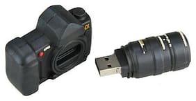 Microware Camera Shape 8 GB Pen Drive