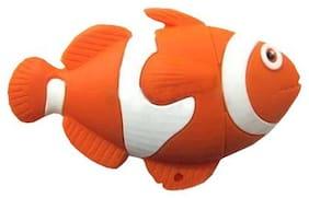 Microware Fish Shape Nemo 16 GB Pen Drive