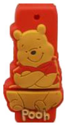 Microware Winnie the Pooh Shape 8  GB Pen Drive