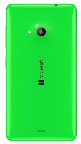 1 Microsoft Lumia 535 Green Replacement Battery Door Panel Housing Back Cover Case Replacement Door - Premium Quality - Green