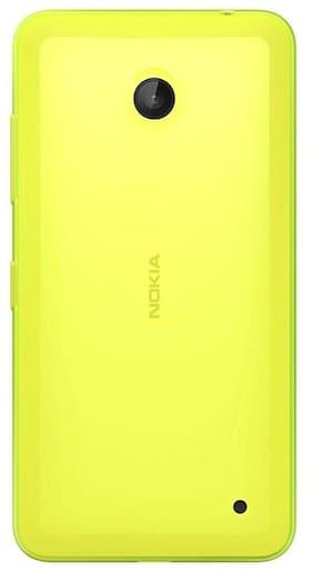 1 Nokia Lumia 630 Replacement Battery Door Panel Housing Back Cover Case Replacement Door - Premium Quality - Yellow
