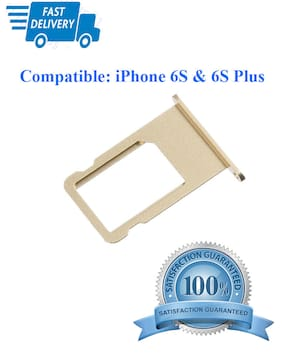 10 PCS SIM Card Tray Slot Holder Replacement for iPhone 6S/6S Plus