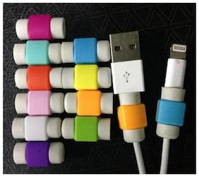 10Pcs. iphone Cable Saver/ Cable Protector (Assorted Colors )