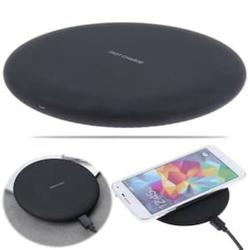 10W Fast Charging Ultra Slim Wireless Charger Pad Compact Power for Smartphones