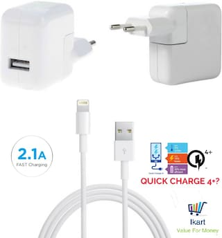 Ikart White Wall Charger