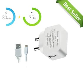 2.1Amp Fast Charger Compatible All Smart Phone | MI | Samsung | Vivo | All Android Phone | Best Quality | Best Service | Best Looking|