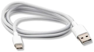 S4 Usb c type cable - 1-1.5m , White