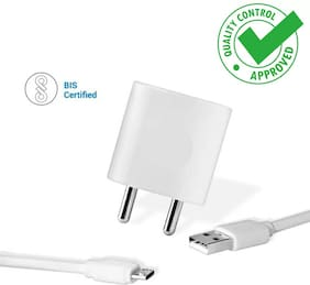 2 Amp Fast Charger Adapter for Gionee s6s with 1 Meter High Speed USB Cable