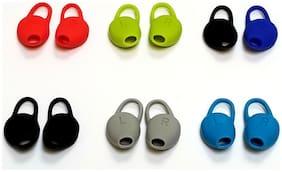 2 pcs Left + Right sides Spare Ear Tips Gel Kit for Plantronics Backbeat Fit PLT
