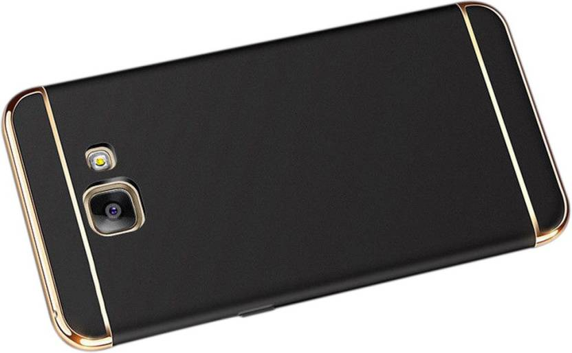 Gohaps Plastic Back Cover For Samsung Galaxy S7 Edge   Black
