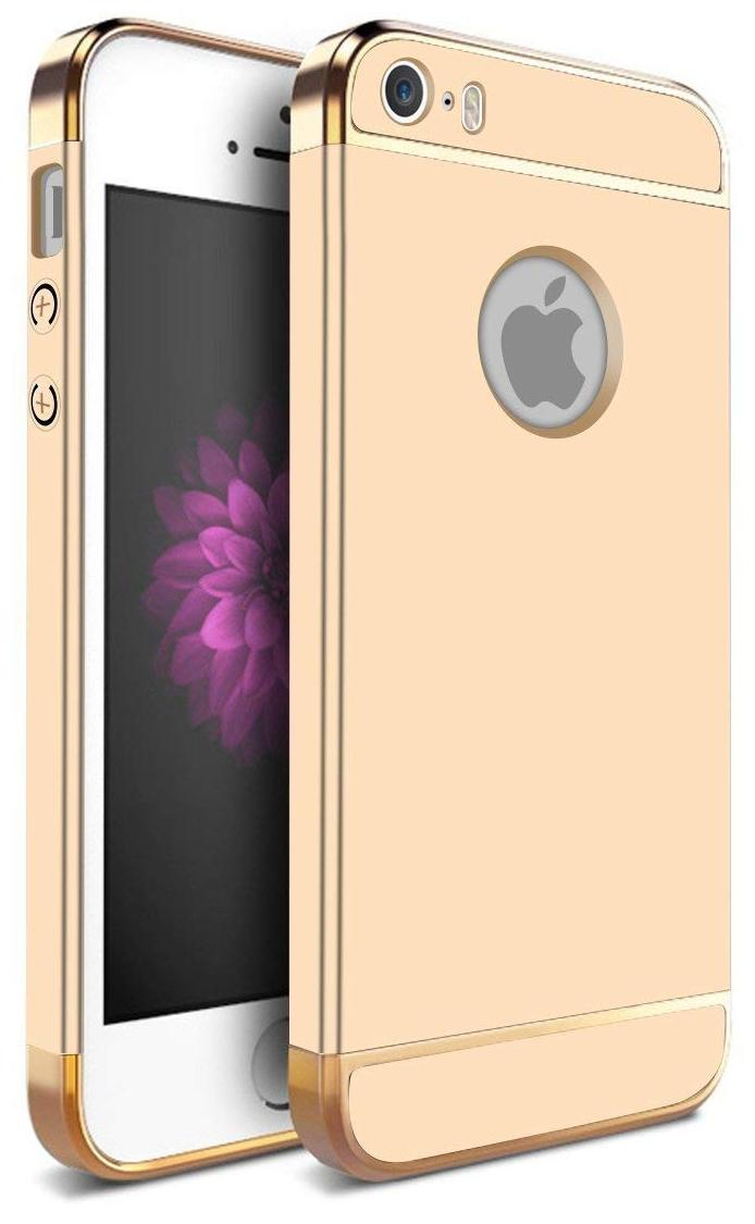 EXOTIC FLOURISH Plastic Back Cover For Apple iPhone 5s   Golden   by Exotic Flourish